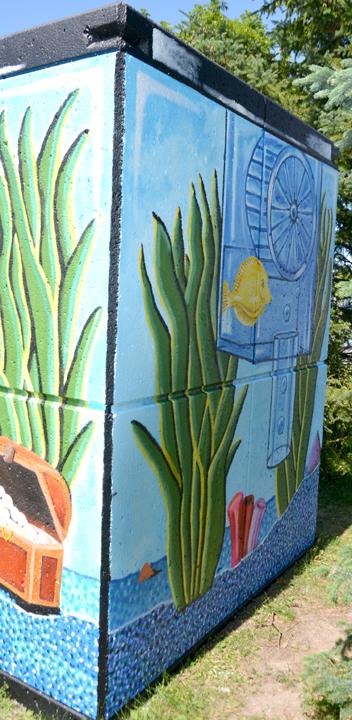 Mural side 1