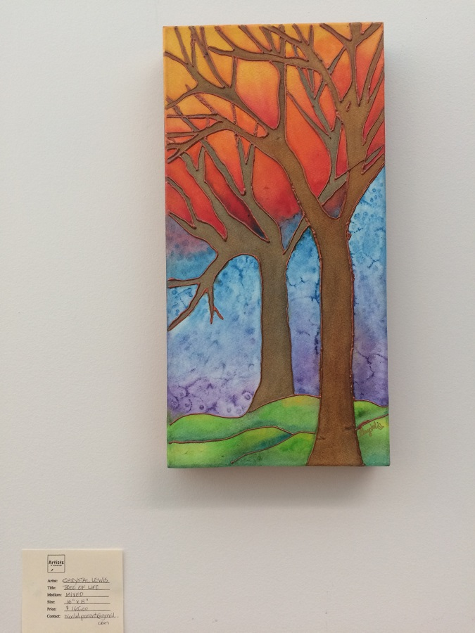 City Hall Exhibit J-S2018 Tree of Life by Chrystal Lewis