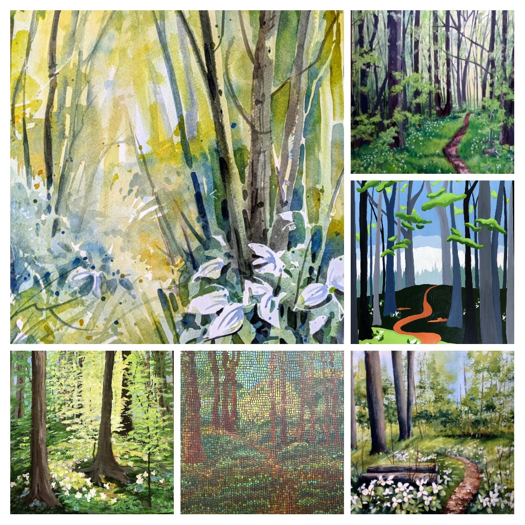 May 2020-Enchanted Forest COLLAGE